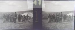 GORNESTI, Mures, Transylvania :  Habitants Du Village.  Vers 1900. Plaque Verre Stéréoscopique, Négatif. Transylvanie - Plaques De Verre