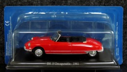 Citroën DS 19 Cabriolet Décapotable 1961 - Voitures, Camions, Bus