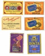 Deinze: Tabak VDC + Roisin + Huis Marcel Janssens - Scatole Di Fiammiferi - Etichette