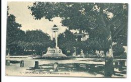 DIVONNE - Monument Aux Morts  (Fauraz éditeur) - Divonne Les Bains
