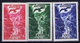 Andorre Mi 158 - 160 Airmail Postfrisch/neuf Sans Charniere /MNH/** - Ungebraucht