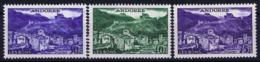 Andorre Mi 155 + 156 + 158 Airmail Postfrisch/neuf Sans Charniere /MNH/** - Französisch Andorra