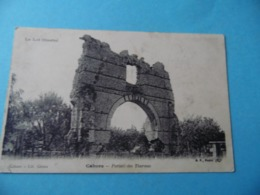 CPA  -  CAHORS - Portail Des Thermes - Cahors