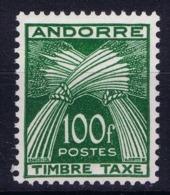 Andorre Mi 41 Tax  Postfrisch/neuf Sans Charniere /MNH/** - Portomarken