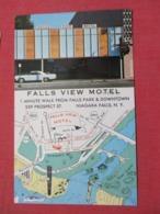 Falls View Motel With Map   Niagara Falls - New York   Ref 3669 - NY - New York