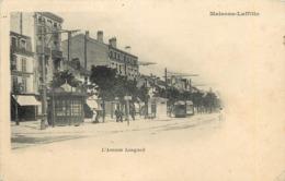 MAISONS LAFFITTE - L'avenue Longueil. (tramway) - Maisons-Laffitte