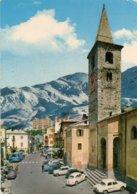 LIMONE PIEMONTE - M. 1010 S.m.- La Piazza E La Chiesa Parrocchiale - Altre Città