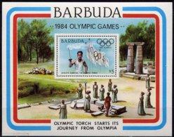 Antigua & Barbuda 1984 Yvertn° Bloc 78 *** MNH Cote 7,50 Euro Sport Jeux Olympiques Olympische Spelen - Antigua Et Barbuda (1981-...)