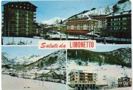 Saluti Da LIMONETTO - Mt. 1300 - Vedute - Altre Città