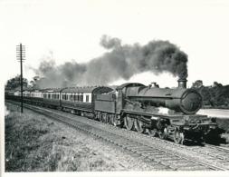 Snapshot Express Star Class Locomotive 1930 Train Ferroviaire Chemin De Fer - Treni