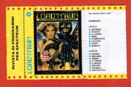 "Videogioco ""LOAD'N'RUN Per Spectrum Vintage Cassetta N.52-16 Giochi, Vedi Foto.. - Other"