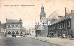 Place Communale Et Eglise - Frameries - Frameries