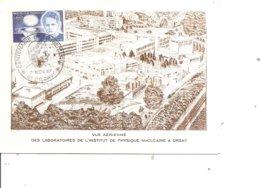 Prix Nobel - Marie Curie  ( Carte Commémorative De France De 1967 à Voir) - Nobel Prize Laureates