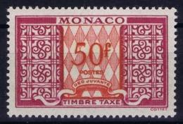 Monaco Mi 39 Timbre Tax   Postfrisch/neuf Sans Charniere /MNH/** 1950 - Segnatasse