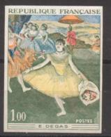 Série Artistique Degas YT 1653 Essai De Couleur Sans Trace De Charnière - France