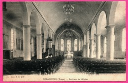 Gerardmer - Intérieur De L'Eglise - Cliché C. M. N° 2029 - Gerardmer