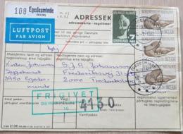 Greenland Adressekort Egedesminde 1981 - Groenlandia