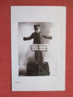 RPPC   Ready  Young Boy Music Conductor    Ref 3669 - Children