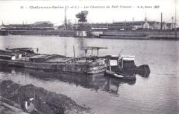 71 - Saone Et Loire -  CHALON Sur SAONE - Les Chantiers Du Petit Creusot - Peniche - Chalon Sur Saone