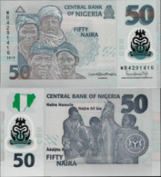 Nigeria 2019 - 50 Naira - Pick NEW UNC Polymer - Nigeria