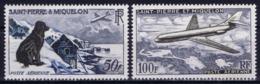 St. Pierre Et Miquelon Yv 24 + 2 5  AE Air     Postfrisch/neuf Sans Charniere /MNH/** 1957 - Luftpost