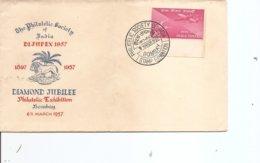 Inde - Dijupex 1957 ( Commémoratif De 1957 à Voir) - 1950-59 République