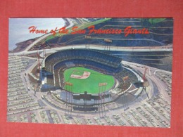 Baseball Stadium  Home Of The San Francisco Giants     Ref 3669 - Baseball