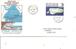 Océan Indien  - Iles( FDC De 1969 à Voir) - Territorio Britannico Dell'Oceano Indiano