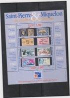 SAINT PIERRE ET MIQUELON 1 Bloc Feuillet Neuf Xx N° YT BF 6 - 1999 Philexfrance 99 - Blocks & Kleinbögen