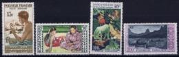 Polynesie Francaise Yv 1 - 4 AE   Postfrisch/neuf Sans Charniere /MNH/** - Poste Aérienne