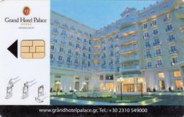 GREECE Hotel Keycard - Grand Hotel Palace Thessaloniki,used - Hotelkarten