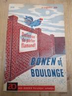 Frans Vlaanderen 1959 Bonen Of Boulonge 16 Blz Eringhem Broekburg Schoebroek - Historia