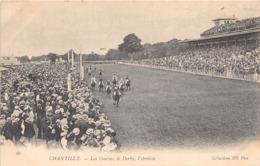 60-CHANTILLY- LES COURSES , LE DERBY , L'ARRIVEE - Chantilly