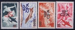 Reunion Yv 52 - 55  AE   Postfrisch/neuf Sans Charniere /MNH/** - Réunion (1852-1975)