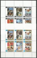 Sharjah,History Of Space Travel I 1970.,mini Sheets,MNH - Sharjah