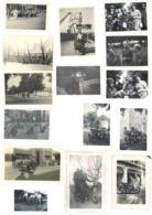 Lot 28 Photos & 6 CP Motos & Cycles à Identifier, Dont Courses, Belgique Et Divers - Automobiles