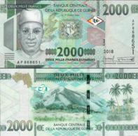 Gwinea 2018 - 2000 Francs - Pick NEW UNC - Guinee