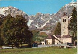 MACUGNAGA M. 1327 - Chiesa Vecchia Ed Il Secolare Tiglio - Altre Città