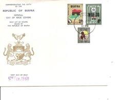Nigéria - Biafra ( FDC De 1968 à Voir) - Nigeria (1961-...)