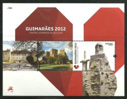 Portugal  2012  Guimarães - European Capital Of Culture 2012,   Mi  3217 In Bloc 329, MNH(**) - Ungebraucht