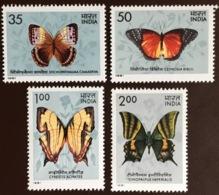India 1981 Butterflies MNH - Schmetterlinge