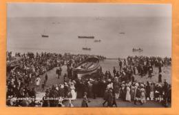 Cromer Launching The Lifeboat UK 1905 Real Photo Postcard - Angleterre