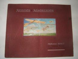 Aviation :  Catalogue Alphonse Binet ( Piéces Détachées )  1912 - Livres, BD, Revues