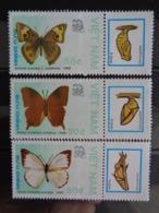 VIETNAM 1989 Y&T N° 949 à 955 ** - INDIA 89, EXPO PHILATELIQUE MONDIALE A NEW DEHLI - Vietnam