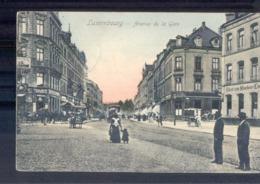 Luxembourg Luxemburg -  Avenue De La Gare - Filiale Zum Muchener Kil - 1909 - Cartoline