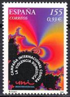 España. Spain. 2001. Campaña Internacional Contra La Violecia Domestica - 2001-10 Nuevos & Fijasellos