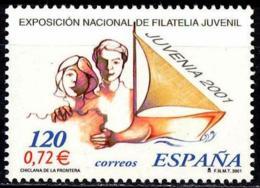 España. Spain. 2001. JUVENIA '2001. Filatelia Juvenil - 2001-10 Nuevos & Fijasellos