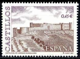 España. Spain. 2001. Castillo Del Cid. Jadraque. Guadalajara. Castles - 2001-10 Nuevos & Fijasellos