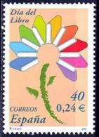 España. Spain. 2001. Dia Del Libro. Book Day - 2001-10 Nuevos & Fijasellos