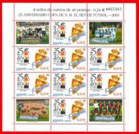 España. Spain. 2001. MP. Copa Del Rey De Futbol. Campeon Zaragoza - 2001-10 Nuevos & Fijasellos